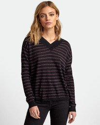 0 Abundant Lightweight Sweater Black WV01WRAB RVCA