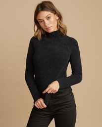 0 Oracle Ribbed Sweater  WV02SROR RVCA