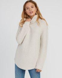 0 Jinx Knit Tunic Sweater Brown WV06SRJI RVCA