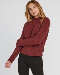 0 Mystars Knit Sweater  WV08SRMY RVCA