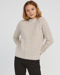 0 Mystars Knit Sweater Brown WV08SRMY RVCA