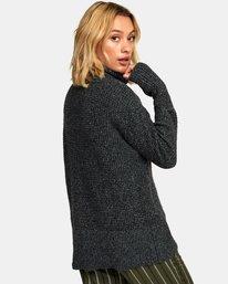 1 Roll It Knit Sweater  WV08WRRO RVCA