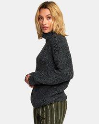 3 Roll It Knit Sweater  WV08WRRO RVCA