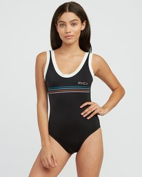 0 Coasting One Piece Swimsuit Black X123RSCO RVCA