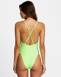 5 FLASH ONE PIECE CHEEKY SWIMSUIT Multicolor X1502RFO RVCA