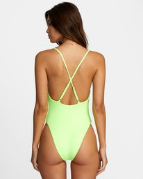 1 FLASH ONE PIECE CHEEKY SWIMSUIT Multicolor X1502RFO RVCA