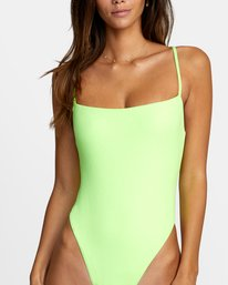2 FLASH ONE PIECE CHEEKY SWIMSUIT Multicolor X1502RFO RVCA