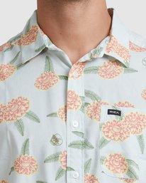 3 Luke Pelletier Floral - Chemise manches courtes pour Homme Vert X1SHRHRVS1 RVCA