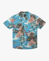 0 Kyuka - Short Sleeve Shirt for Men Blue X1SHRLRVS1 RVCA