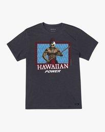 0 Evan Mock Hawaiian Warrior - T-Shirt for Men Black X1SSRIRVS1 RVCA