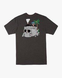 1 Luke Pelletier Skull Bowl - T-shirt pour Homme Noir X1SSRRRVS1 RVCA