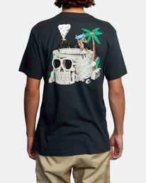 3 Luke Pelletier Skull Bowl - T-shirt pour Homme Noir X1SSRRRVS1 RVCA
