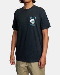 4 Luke Pelletier Skull Bowl - T-shirt pour Homme Noir X1SSRRRVS1 RVCA