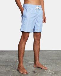 4 Opposites Elastic - Short de bain pour Homme Bleu X1VORCRVS1 RVCA