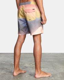 5 Trippy Dana - Short de bain en matière recyclée pour Homme Multicouleurs X1VORERVS1 RVCA