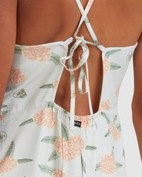 3 Luke Pelletier Floral - Robe sans manches pour Femme Vert X3DRRCRVS1 RVCA