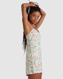 4 Luke Pelletier Floral - Robe sans manches pour Femme Vert X3DRRCRVS1 RVCA