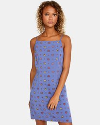 1 Timeout - Robe sans manches pour Femme Bleu X3DRRHRVS1 RVCA