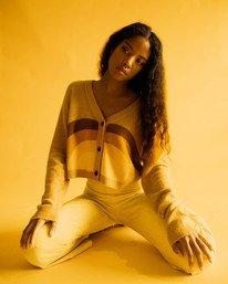 0 Trippy Dana Pioneer - Gilet court pour Femme Jaune X3JPRARVS1 RVCA