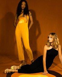 0 Trippy Dana Saloon - Combinaison pour Femme Jaune X3ONRBRVS1 RVCA
