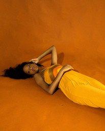 1 Trippy Dana Saloon - Combinaison pour Femme Jaune X3ONRBRVS1 RVCA