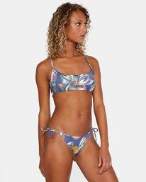0 Pixie Crossback - Recycled Bikini Top for Women Blue X3STRORVS1 RVCA