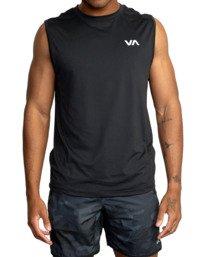 RVCA Mens Graphic Sleeveless Tank Top Tee Shirt