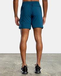 3 VA Sport Yogger IV - Short elástico para Hombre Azul X4WKMLRVMU RVCA