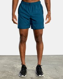 2 VA Sport Yogger IV - Short elástico para Hombre Azul X4WKMLRVMU RVCA