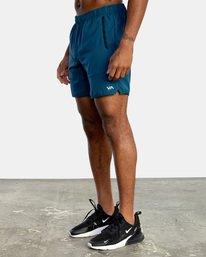 5 VA Sport Yogger IV - Short elástico para Hombre Azul X4WKMLRVMU RVCA