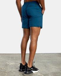 6 VA Sport Yogger IV - Short elástico para Hombre Azul X4WKMLRVMU RVCA