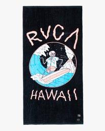 2 Luke Pelletier Surf - Beach Towel for Men Black X5TORCRVS1 RVCA