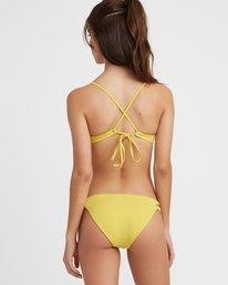 0 Solid Full Side Tab Bikini Bottoms Beige XB02TRSF RVCA
