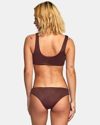 0 Solid Tab Medium Bikini Bottoms Brown XB03VRSM RVCA