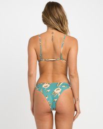 0 South Swell Pelletier High Cut Bikini Bottoms Blue XB08NRSH RVCA