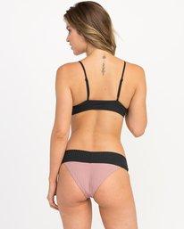 0 Rockaway Ribbed Medium Bikini Bottoms Pink XB08QRRM RVCA