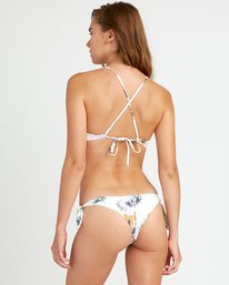 0 Romeo Floral Cheeky Knot Bikini Bottoms White XB12URRC RVCA