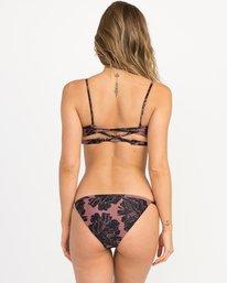 0 Peony Floral Medium Bikini Bottoms Pink XB13QRPM RVCA