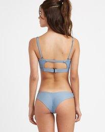 0 Beau Grid Cheeky Bikini Bottoms Blue XB14TRBC RVCA