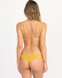 0 Solid Shimmer Cheeky Bikini Bottoms Multicolor XB20QRSC RVCA