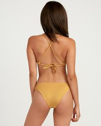 0 Solid Shimmer Medium Bikini Bottoms Multicolor XB21QRSM RVCA