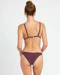 0 Red White RVCA Medium Bikini Bottoms Blue XB23URRM RVCA