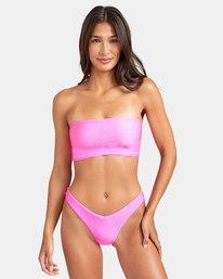 0 SALT WASH FRENCH BIKINI BOTTOM Pink XB243REF RVCA