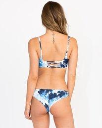 0 Paint Flower Cheeky Bikini Bottom Blue XB31PRCC RVCA