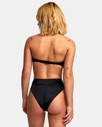 1 Solid High Rise Cheeky Bikini Bottoms  XB40URHC RVCA