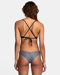 0 SALT WASH CHEEKY BIKINI BOTTOMS Black XB411RSC RVCA