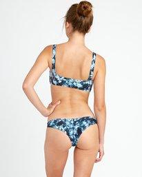 0 Tye Tye Cheeky Bikini Bottoms Grey XB42URTC RVCA
