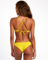 0 SOLID CHEEKY BIKINI BOTTOMS Orange XB431RSC RVCA