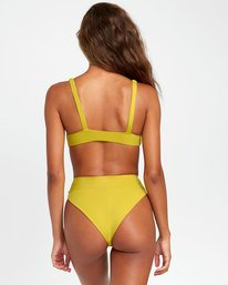0 SOLID HIGH RISE BIKINI BOTTOMS Orange XB441RSH RVCA