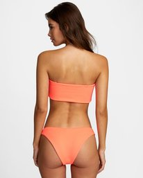 0 FLASH FRENCH BIKINI BOTTOM Pink XB492RFF RVCA